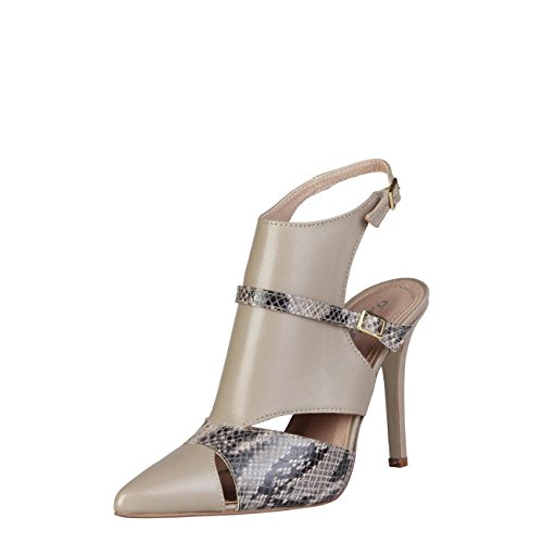 Sandals Pierre Taupe Brown Laetitia Cardin w0zqpA