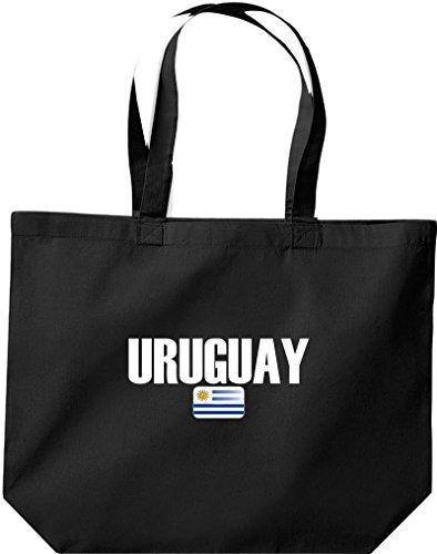 große Bolsa de compra, Uruguay Land PAÍSES Fútbol Negro
