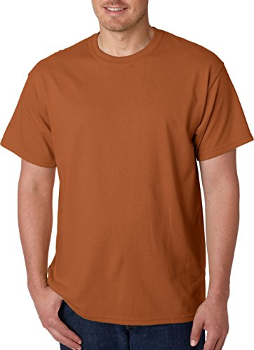 - Gildan - Heavy Cotton T-Shirt - 5000 - Texas Orange - Medium