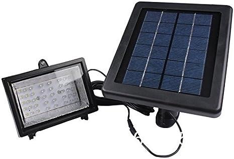 Bizlander Solar Light with 60 LED Solar Flood Light for Work Home with 16ft