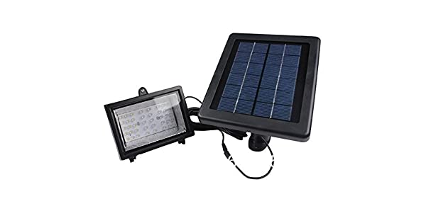 Amazon.com: bizlander 30 LED Solar Luz Valla de deporte al ...