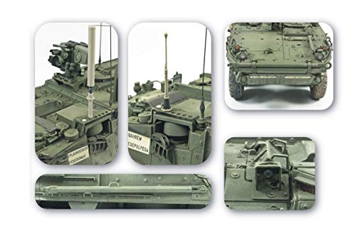 Upgrade Equipment for Stryker Series Vehicles 1-35 AFV Club