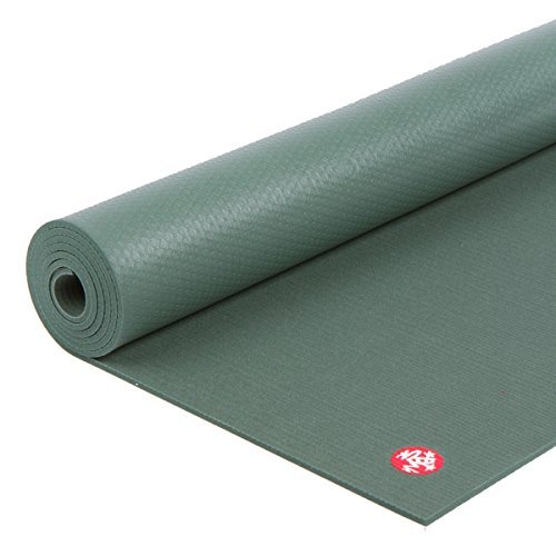 Manduka PRO Yoga and Pilates Mat, 黒 Sage, 85