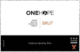 NV ONEHOPE California Glitter Edition Brut Sparkling Wine 750 mL