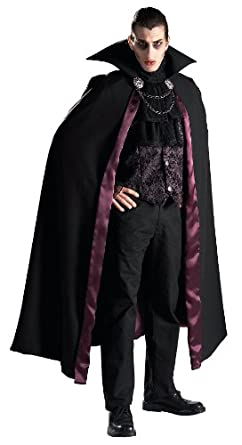 Amazon.com Rubieu0027s Grand Heritage Collection Deluxe V&ire Costume Black Standard Clothing  sc 1 st  Amazon.com & Amazon.com: Rubieu0027s Grand Heritage Collection Deluxe Vampire Costume ...