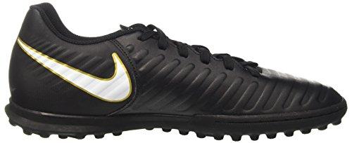Nike Tiempox Rio Iv Tf Heren Turf Voetbalschoen Zwart / Wit