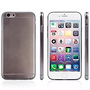 JJE 0.05MM Ultrathin Transparent Silicone Back Cover for iPhone 6 (Assorted Colors) , Light Green