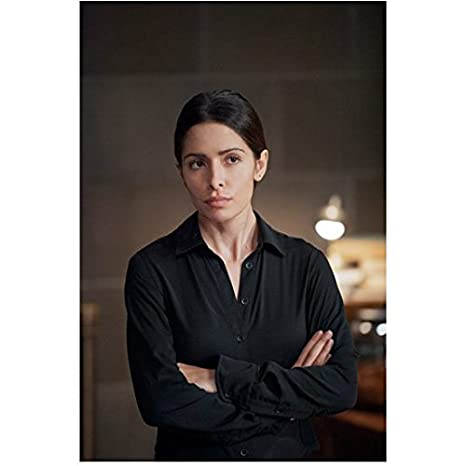 Person of Interest Sarah Shahi as Sameen Shaw with Arms Crossed 8 x