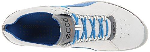 ECCO Womens Biom Hybrid Lace Up Golf Shoe White/Dynasty h6IDH