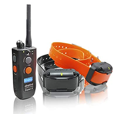 Dogtra 3502NCP Super X Waterproof Two Dog Expandable High-Output Remote Dog Training E-Collar