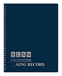 Oversize Record Book for 6-10 Weeks; Extra-large Squares (1/4\