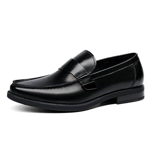 colore Uomo Da In British Tonda Testa Eu43 Lounger Shoes Dimensioni Hwf uk8 Tide Yellow Nero Scarpe A Casual Business Pelle brown 6wBE5I