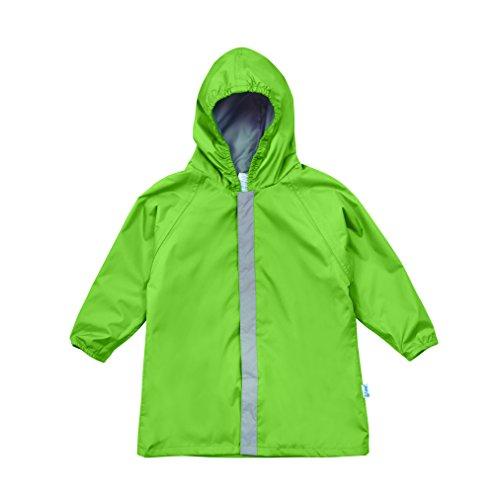 Green Boys Raincoat - i play. Toddler Lightweight Raincoat, Green, 3T/4T