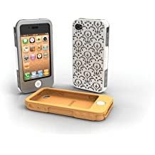 Tech Candy Jet Set Collection iPhone 4 Case Set BORDEAUX Fits AT&T and Verizon