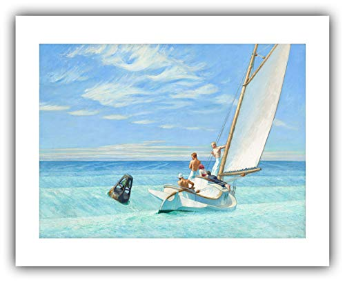 The Ibis Print Gallery - Edward Hopper : ''Ground Swell'' (1939) - Giclee Fine Art Print