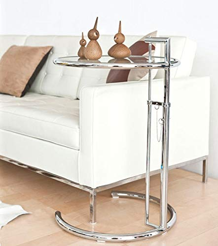 Mesa auxiliar Shisedeco Eileen de color gris y gris, mesa ...