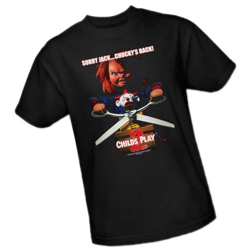 Chucky's Back -- Child's Play II Adult T-Shirt, X-Large -