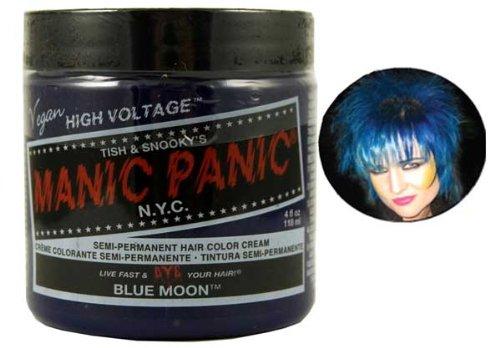 Manic Panic Classic Semi-Permanent Hair Dye 118ml (Blue Moon)