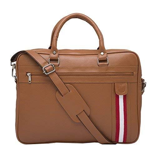 Mboss 9.5 Ltrs Tan Laptop Messenger Bag  PFB 005 TAN_2