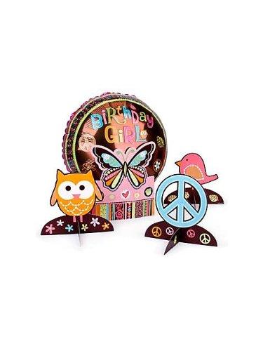 (Hippie Chick Centerpiece Kit per)
