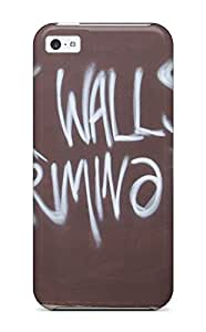 Hot Tpu Cover Case For Iphone/ 5c Case Cover Skin - Graffiti