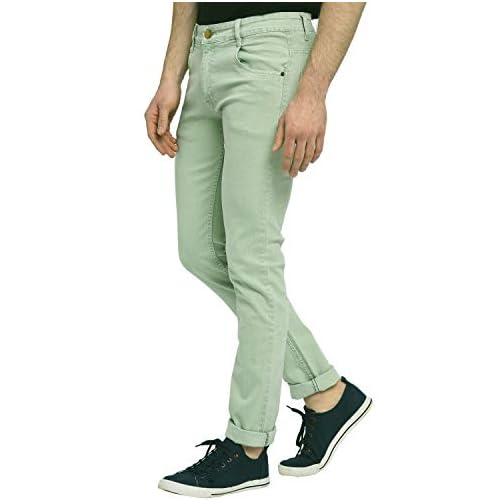 STUDIO NEXX Men's Regular Fit Stretch Jeans