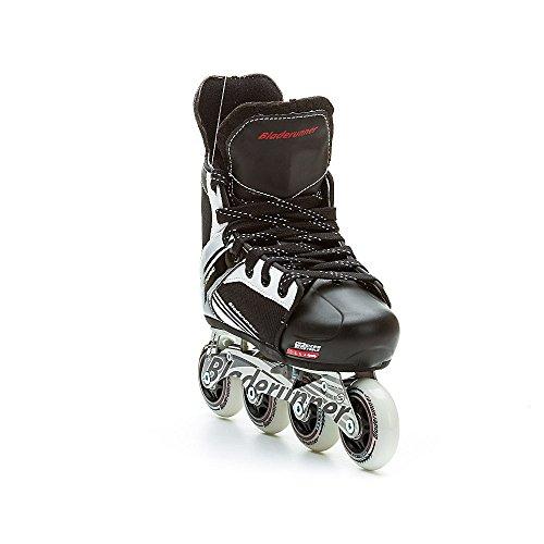 Bladerunner by Rollerblade Dynamo Jr Size Adjustable Hockey Inline Skate, Black and Red, Inline Skates by Bladerunner (Image #4)
