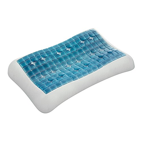 Technogel Luxurious Cooling Gel Pillow - Patented Ergonomic Design for Deeper Sleep