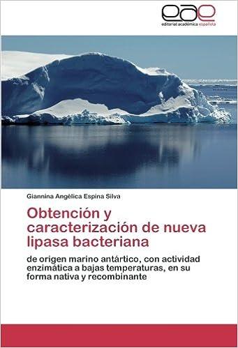 Obtención y caracterización de nueva lipasa bacteriana: de ...