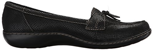 WoMen Interest Ashland Bubble Loafer Black Clarks UxOqAdvU