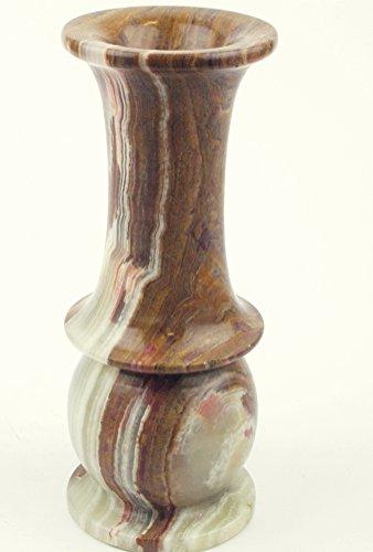 Onyx Vase (Hand-Carved Natural Onyx Vase)