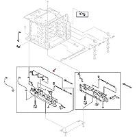 Sparepart: HP Paper cassette frame, RG5-6459-000CN