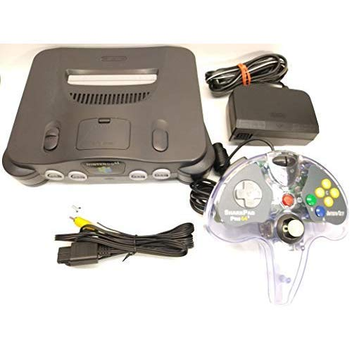 Nintendo 64 N64 Box - Nintendo N64 Console Bundle W/ One Controller (Renewed)