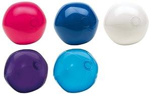 R515X Wasserball Strandball glänzend ca. 28 cm Wasserspielzeug G1 (R517 Weiss)