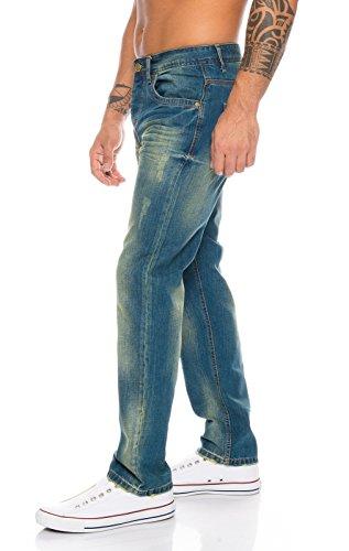 Rc Uomo Rock 2103a Jeans blau Straight Creek xP0nC0I