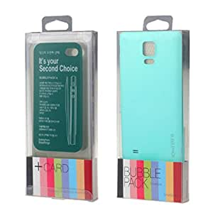 Mokingtop Candy Color Rear Battery Back Cover Door for Samsung Galaxy Note 4 (Sky Blue)