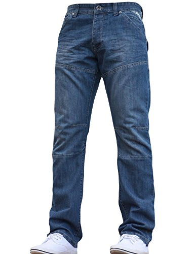 Wash Light Uomo Straight Enzo Jeans TwqnU