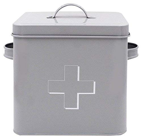 - Lesser & Pavey New Sweet Home First Aid Tin, Grey, 18 x 15 x 20 cm