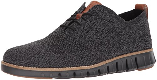 Cole Haan Men's Zerogrand Stitchlite Oxford, Black/Magnet/Black, 10.5 Medium US by Cole Haan