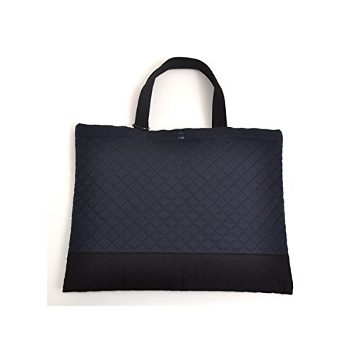 Kids lesson bag of handmade sense (quilting) deep navy made in Japan N0231300 (japan import)