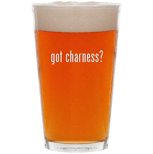 Patio Gas Caddie - got charness? - 16oz Pint Beer Glass