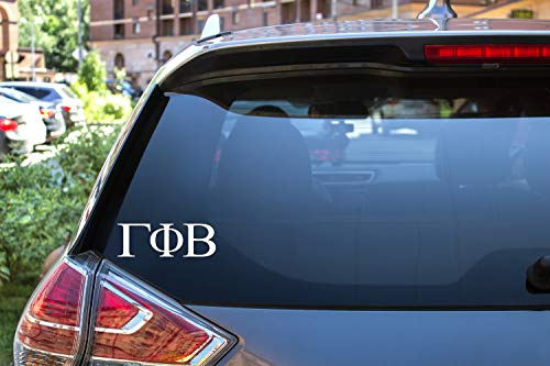 Gamma Phi Beta Sticker Greek Sorority Decal for Car, Laptop, Windows, Officially Licensed Product, Monogram Design 2.5