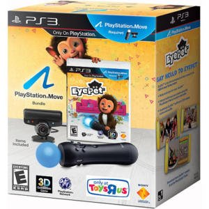 Playstation 3 Eyepet Move Bundle Game + Controller + Eye Camera