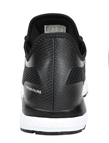 Droomparen Mens Pilot-m Atletische Hardloopschoenen Sneakers Zwart