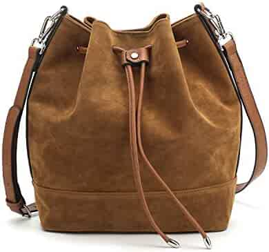 5b734ee787a3 Shopping Browns or Pinks - Suede - Handbags & Wallets - Women ...