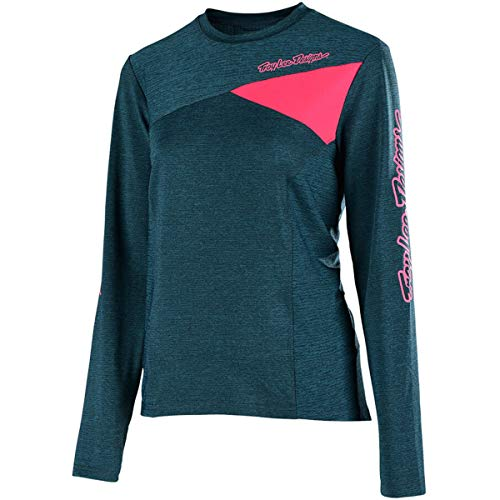 (Troy Lee Designs Skyline L/S Solid Women's Off-Road BMX Cycling Jersey - Heather)