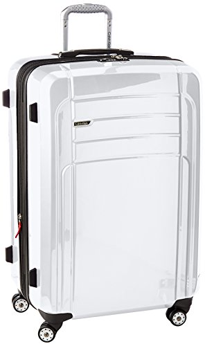 Calvin Klein Rome 29 Inch Upright Suitcase, White, One Size by Calvin Klein