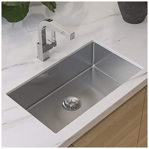 Kitchen Pfister LG534-LPMC Arkitek Kitchen Faucet with Pull-Out Sprayhead, Polished Chrome modern sink faucets
