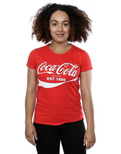 [Coca Cola Women's 86 Logo T-Shirt Medium Red] (Coca Cola Dress)