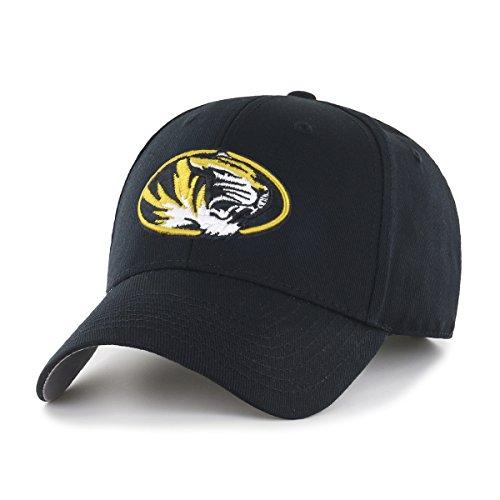NCAA Missouri Tigers OTS All-Star MVP Adjustable Hat, Black, One Size